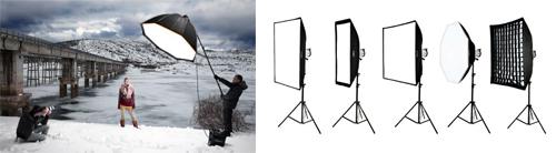 Difusores de luz para flash en fotografía - Filmacam